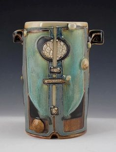 Carol Long ceramic vase