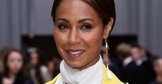 In a room full of neutral palettes and poker face expressions on Thursday morning, a beaming Jada Pinkett Smith stood out from the crowd at Chloé, the first show of the day.  Dressed head to toe in vin...