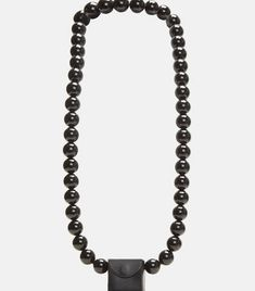 Building Block Mini Cube Sling In Black Acrylic Beads, Luxury Bags, Contemporary Design, Cube, Chain, Mini, Building, Leather, Accessories