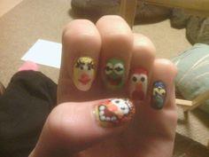 Muppet nails!! Nail Care, My Nails, Nail Manicure, Nail Repair