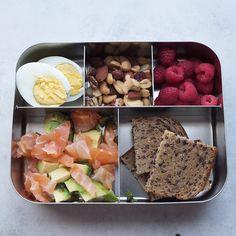 Bentobox mit nur 13g Kohlenhydraten - eignet sich zur ketogenen Ernährung #mealprep #lowcarb