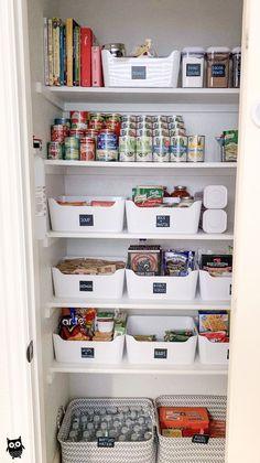 Pantry organization – kitchen design – #design #kitchen #Organization #Pantry