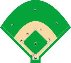 baseball field diagram printable clipart best stuff to make rh pinterest com baseball diamond clipart baseball diamond clipart black and white