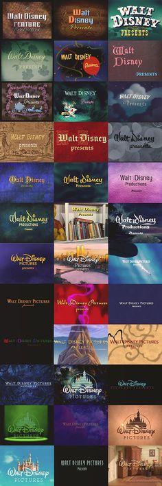 Disney opening titles #disney