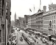 Market Street from Eighth Street, Philadelphia (1904)