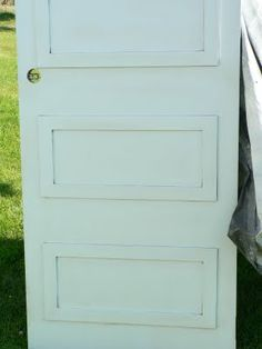 I am thinking of dressing up my doors instead of replacing them all.      Add molding to hollow core doors to create a paneled door effect