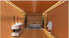 Bathroom, 3D, Japanese