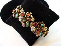 ART Bracelet Vintage 1950s Designer MODEART by AnnesGlitterBug, $89.00