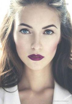 #Labios #granates: bienvenida al lado oscuro del #maquillaje