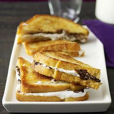 Valentine's Day Chocolate Desserts: Chocolate-Marshmallow Sandwiches