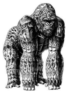 BioWorkz é o apelido de Ben Kwock ilustrador apaixonado por detalhes, confira seus trabalhos.
