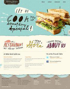103 best food websites images page layout food website website rh pinterest com