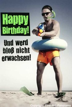 funny birthday pictures for men Geburtstag Birthday Tags, Happy Birthday Wishes, Birthday Greetings, Men Birthday, Happy Birthday Funny Humorous, Funny Birthday Cards, Birthday Memes, Happy B Day, Birthday Pictures