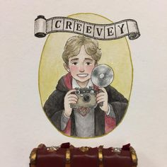 "552 Likes, 17 Comments - Melody Howe (@theimaginativeillustrator) on Instagram: ""Rest in peace Colin Creevey, he was a true Gryffindor  #harrypotter #colincreevey #portrait…"""
