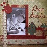 Writing a letter to Santa