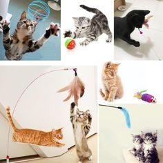 Cat Toys Set, Legendog 10 Pack Interactive Toys Cat Nip Toys Mouse Pet Toys for  #Unbranded