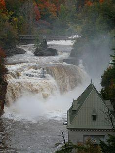 Rainbow Falls, AuSable Chasm, NY