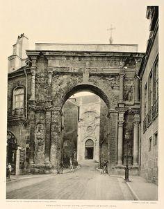 The Black Gate of the Cathédrale Saint Jean, Besançon