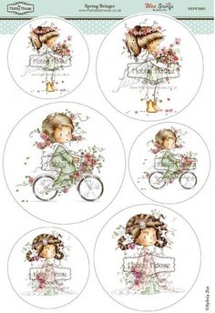 Wee Sylvia Zet die cut topper collection by the Hobby House - Spring Bringer