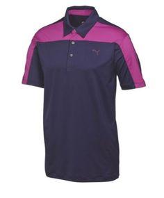 Puma Golf Youth CB Tech Polo Shirt Junior Collection 568470- Color Peacoat V -