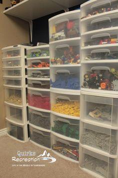 LEGO organization Idea