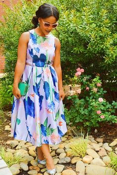 Floral Dress on the blog at Bornmajestic.com f8a64f889104