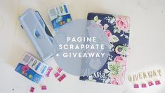 Come decorare l'agenda in stile scrapbooking + giveaway in collaborazion...