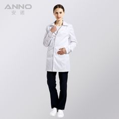 White Medical Lab Coat Clothing Plus size Long Nurse Doctors Coat Women Man Dental Disposable Cotton Doctor Uniform Scrubs  #Affiliate