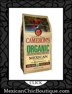 Mexican Coffee   Coffee   Cafe   Cafe Mexicano ♥ CAMERON'S Organic Whole Bean Coffee, Mexican, 12-Ounce $10.18