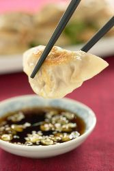 com pork shrimp and walnut pot stickers pork shrimp and walnut pot ...