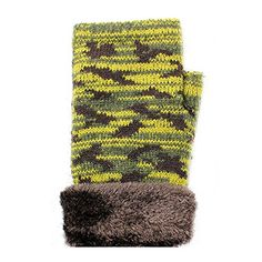 Camouflage Me Womens Fingerless Knit Gloveshttp://www.amazon.com/dp/B015HOUBI4/