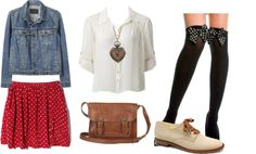 """""""Minnie Mouse"""" by alysanerdychic14 on Polyvore"""