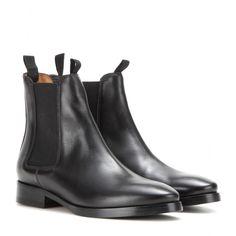 ブラックレザーブーティー BESS LEATHER CHELSEA BOOTS | ACNE アクネ | レディース - 靴 - ブーティー | Black | 海外通販ならLASO(ラソ)