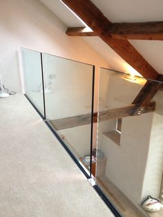 Side fixed frameless glass balustrade - not sure about the gaps!
