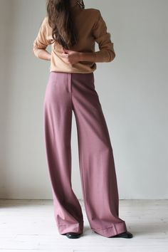 Image of Kenzo pink trousers