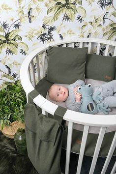 Playpen, Color Khaki, Trendy Colors, Storage Baskets, Bassinet, Garland, Toddler Bed, Blanket, Living Room