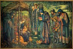 The Star of Bethlehem by Sir Edward Burne-Jones (1833-1898)