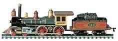 Bachmann American 4-4-0 & Tender Union Pacific #119 -- HO Scale Model Train Steam Locomotive -- #51101