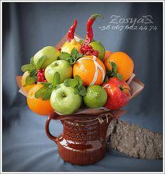 Букеты из конфет *фруктов* овощей *Донецк*