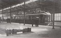 station Rotterdam Hofplein stationsgebouw I (1930) perronkap