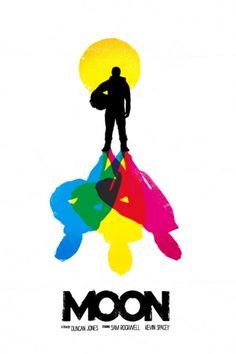 Moon. Poster by Daniel Norris.