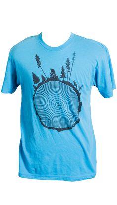 Tree Ring Mountain bike T shirt