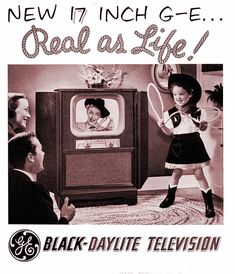 1950s GE television ad.