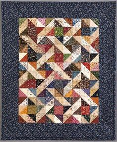 CHARM SQUARE QUILTS | FREE Quilt Pattern