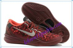 Cheap Kobe VIII,Lebron James System Year of the Snake Red Grey 555286 66-A new sample of Cheap Kobe VIII