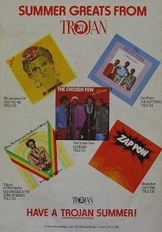 September 1976 advert. Skinhead Reggae, Rude Boy, Reggae Music, Album Covers, Art Decor, Vinyls, September, Posters, Ska