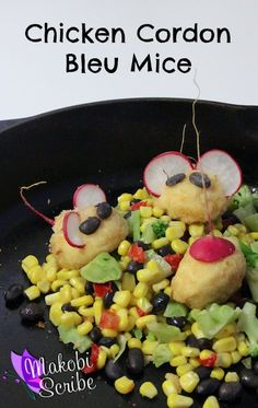 Fun way to get your kids involved in cooking! Make Chicken Cordon Bleu Mice! #shop #cbias #clip4school #recipe