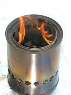 Make Your Own Gear » MYOG Inverted Downdraft Woodgas Stove