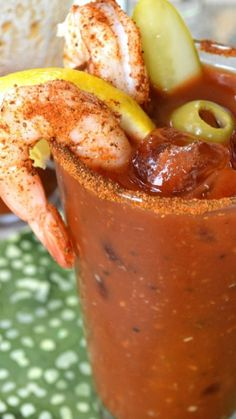 When you are going to indulge in a Bloody Mary drink, Go Big or Go Home!! This is THE Ultimate Bloody Mary Recipe, exploding with flavor and practically a meal in itself. No bloody mary mix required.