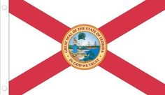 Allied Flag Outdoor Nylon State Flag, Florida, 4-Foot by 6-Foot by Allied Flag. $44.28. Durable and long lasting. Reinforced fly hem and two sturdy brass grommets. Made in the usa. Outdoor Nylon Florida 4-Foot by 6-Foot Flag made from DuPont SolarMax Nylon, a material created especially for outdoor use.. Save 26% Off!